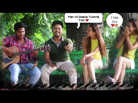 Download Punjabi Bollywood Mashup Songs | Randomly Singing Reaction Video |  Kardiya Prank | 2021