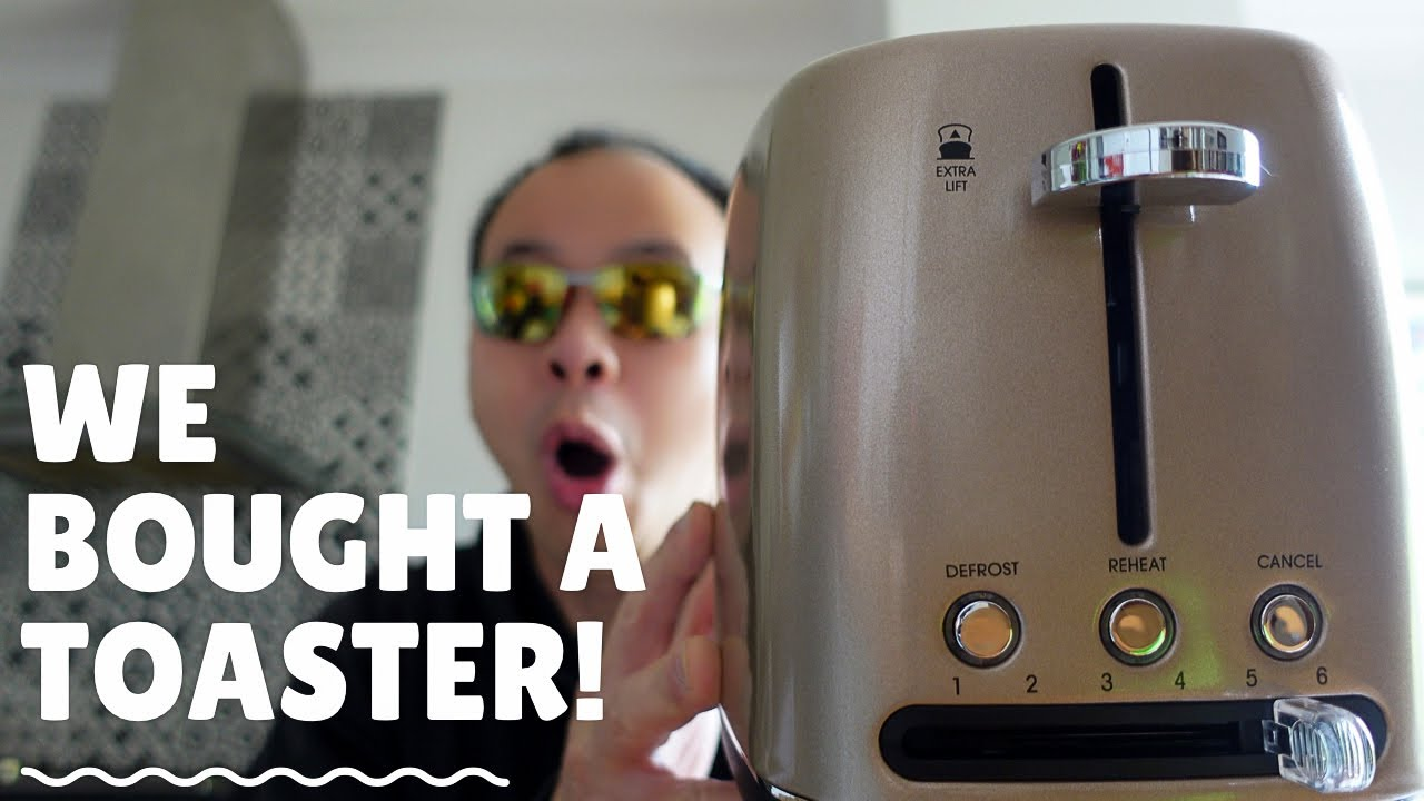 Reviewing a- toaster?
