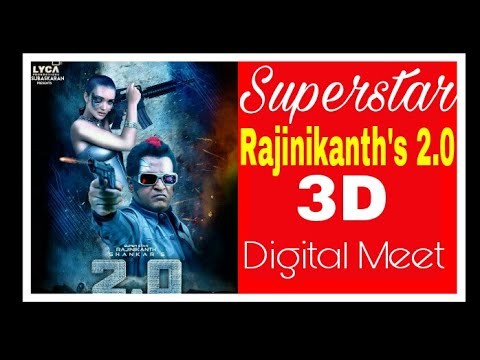 Superstar Rajinikanth, Director Shankar's 2.0 3D Digital Meet