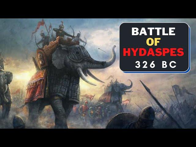 Battle of the Hydaspes | झेलम का युद्ध | Porus vs Alexander | Indian Military History