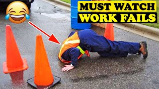Try Not To Laugh - Funniest Work Fails|Funny Work Fails|Funny Fails