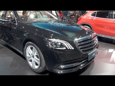 The new Mercedes-Benz S-Class. Shanghai auto show