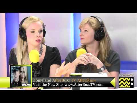 "Homeland After Show w/ Nikki DeLoach Season 2 Episode 6 "" A Gettysburg Address "" | AfterBuzz TV"