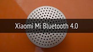 Обзор колонки Xiaomi Mi Bluetooth 4.0 Speaker