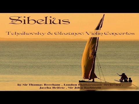 BEST CLASSICS| Sibelius, Tchaikovsky, Glazunov -  Violin Concertos