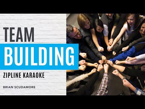 Ziplining Karaoke