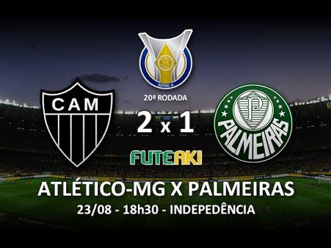 Melhores Momentos: Atlético-MG 2 X 1 Palmeiras Pela 20ª Rodada Do Brasileirão 2015