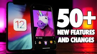 Top 50+ BEST iOS 12 Features & Changes! iOS 12 Review!