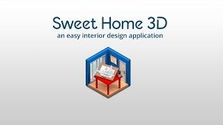 видео Sweet Home 3D