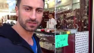 Rinderschinken (Pastirma) gut oder nicht aus Kayseri .