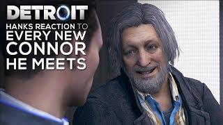 Gambar cover Hanks Reaction to a New Connor He Meets on Every Mission - DETROIT BECOME HUMAN