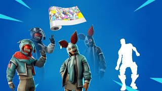 NEW IN VIBE, NEW STYLES OF SKINS AND EMOJISADO ENVELOPAMENTO | Fortnite Store 04/08