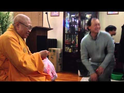Đón Giao Thừa tại chùa east Boston