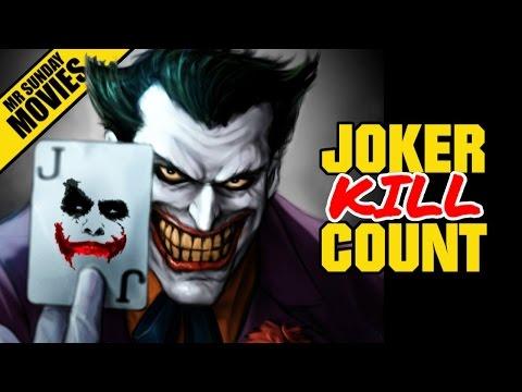 THE JOKER Movie Kill Count Supercut