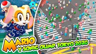 ¡Invasión Mau mau! - #05 - Mario y Sonic Olimp. Tokyo 2020 (Historia) DSimphony