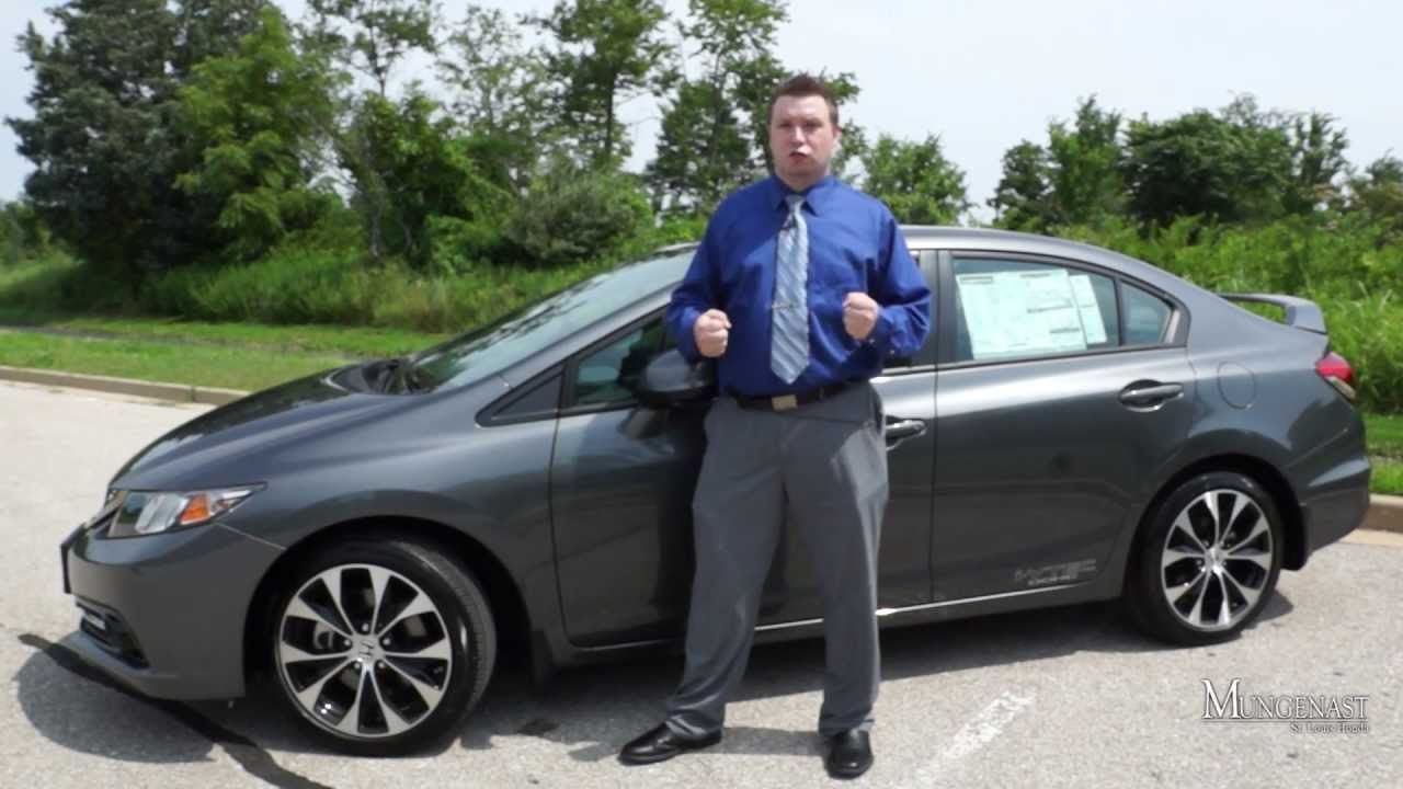2013 Honda Civic Si Sedan Test Drive Review