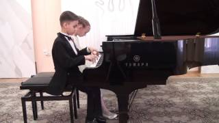 В. Моцарт «Ария Фигаро» из оперы «Свадьба Фигаро» М.Глинка