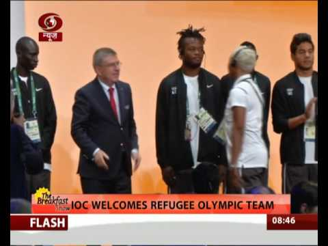 Rio Olympics: IOC welcomes refugee Olympic team
