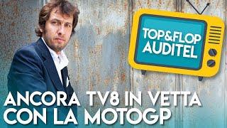 Ancora TV8 in vetta con la MotoGp