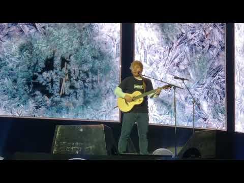 Ed Sheeran - Perfect - Live in Seattle