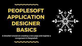 PeopleSoft Application Designer Overview