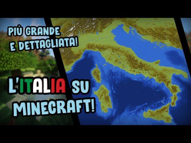 Cartina Dell Italia In Miniatura.Minecraft Italia In Miniatura La Mappa Ricreata In Scala 1 250