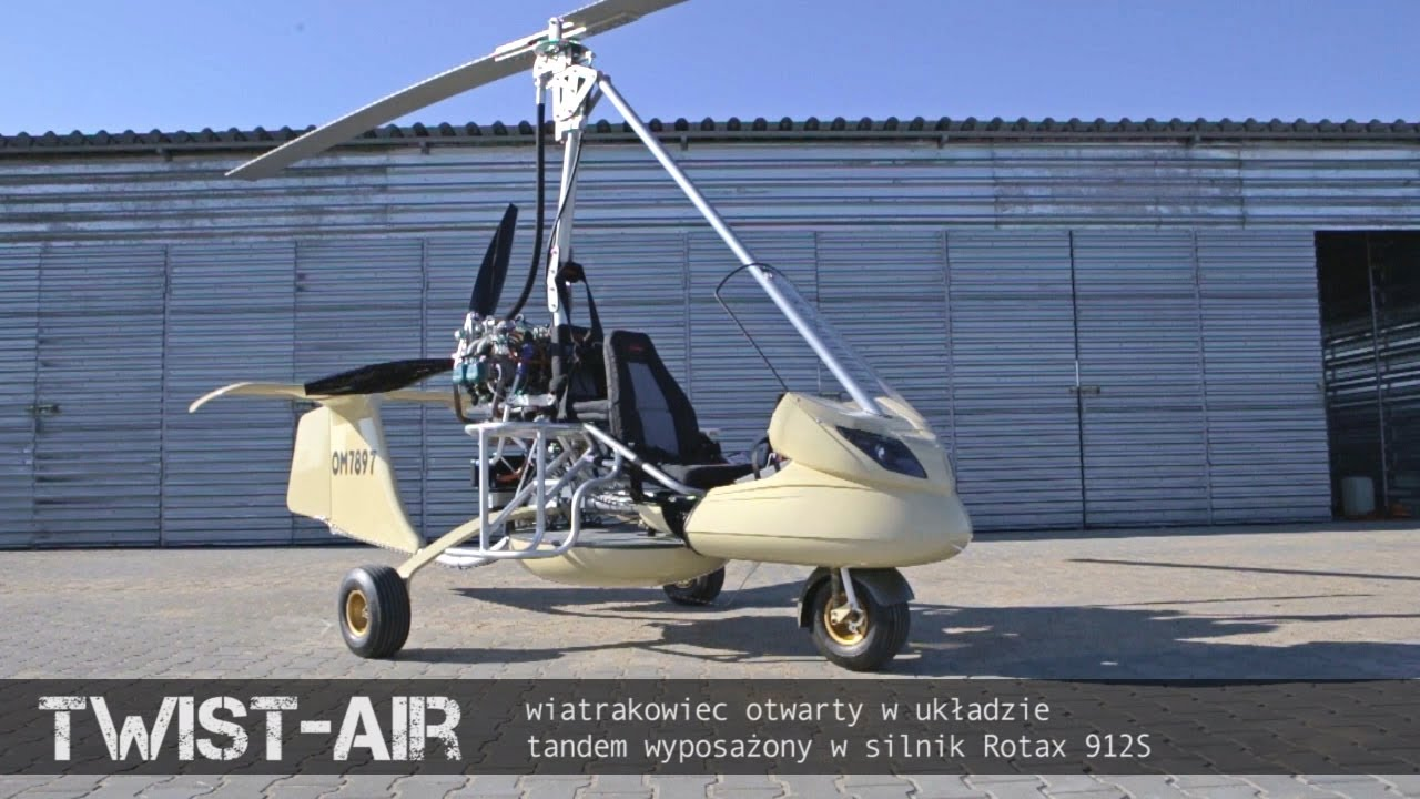 TROOPER 3 seats open GYROPLANE AVIATION AT