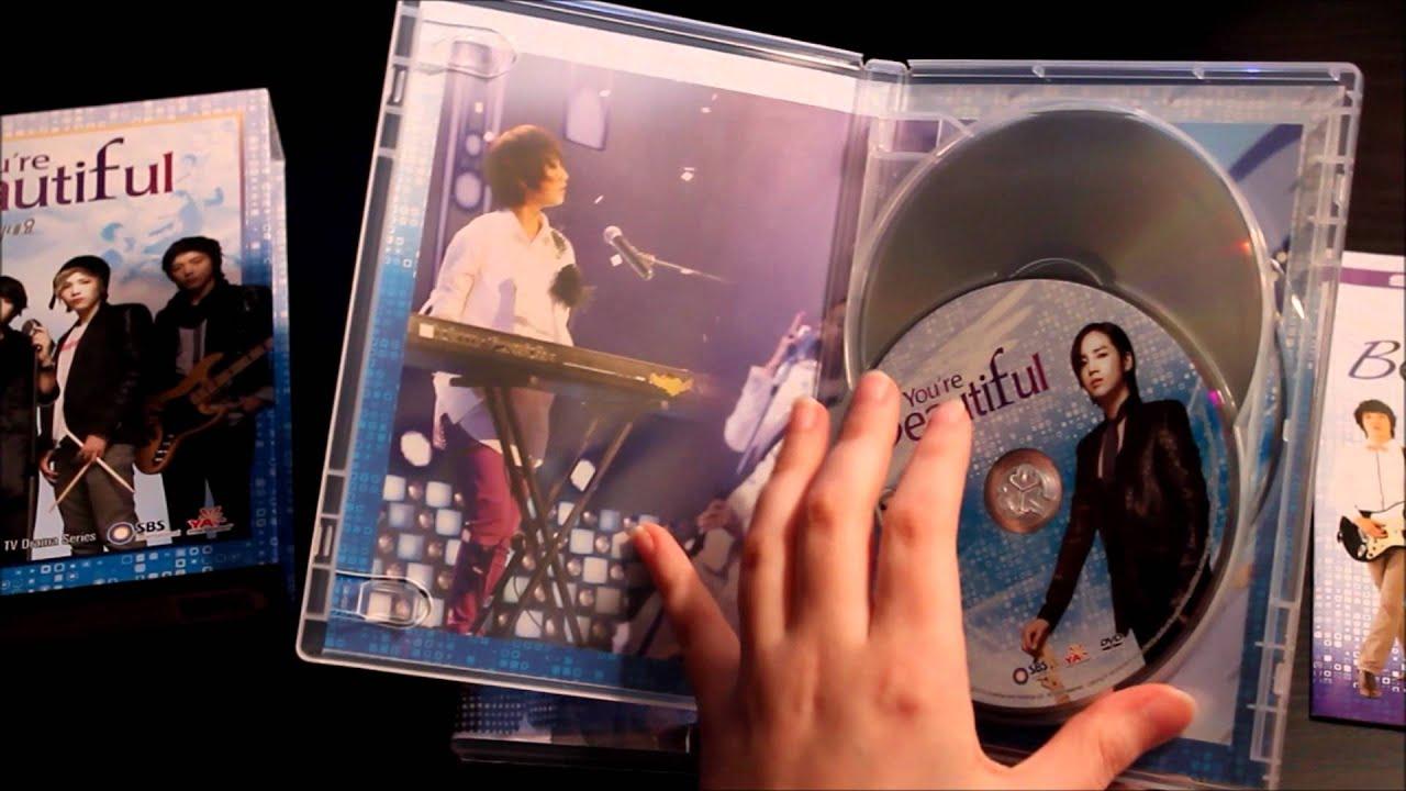 Sbs Youre Beautiful Korean Drama Dvd Boxset Unboxing Youtube