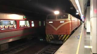 台鐵7502次貨物列車通過(松山)