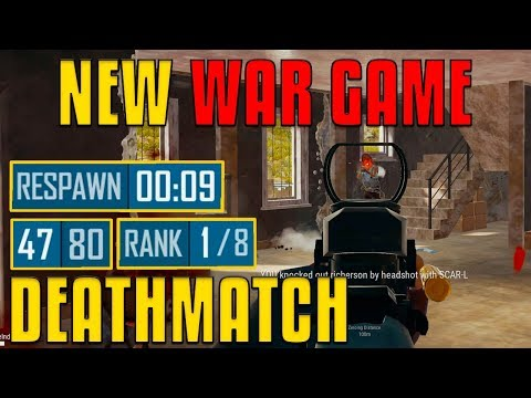 NEW War Game - Deathmatch in PUBG! | PlayerUnknown's Battlegrounds |