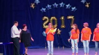 Супер выступление родителей. Выпускной вечер 24.06.2017 Владивосток школа 57.Поздравление родителей.