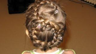 Прическа на 8 марта  (вариант 8) Hairstyle