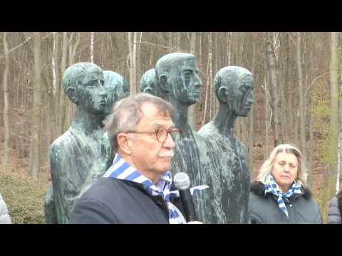 Mittelbau-Dora - Commemorazione durante pellegrinaggio studenti Friulani organizzato da ANED Udine