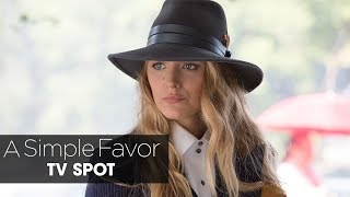 """A Simple Favor (2018 Movie) Official TV Spot """"Emily"""" – Anna Kendrick, Blake Lively, Henry Golding"""