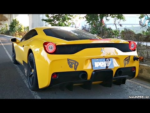 EPIC Ferrari 458 Speciale with iPE Innotech F1 Exhaust AMAZING Sound!