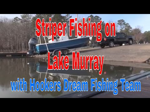 Striper Fishing for Cold Water Stripers,How to catch stripers on Lake Murray