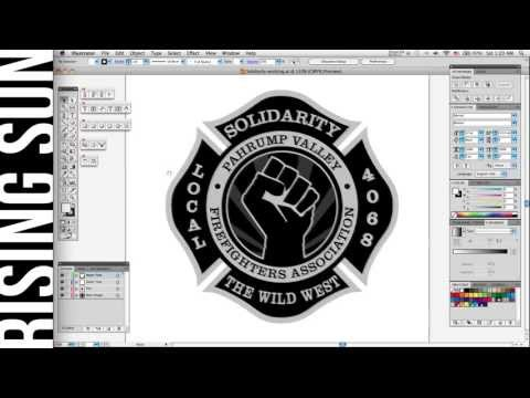 How to Set Text to a Path in Illustrator