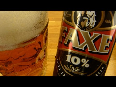 Faxe 10% Extra Strong Beer
