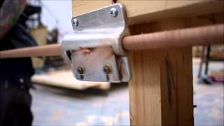 Colour Match Hardwood Dowels - Wooden Gates By Hbh Joinery