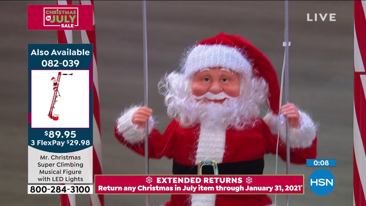 Hsn Christmas In July 2020 Schedule HSN | Christmas In July Sale  Mr. Christmas 07.06.2020   11 AM