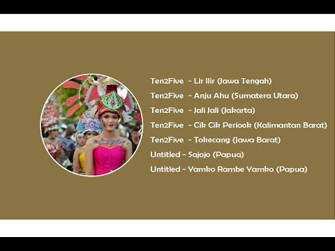 Cover Lagu Lagu Daerah Indonesia, Sumatera, Jawa, Kalimantan, Sulawesi, Papua. STAFABAND
