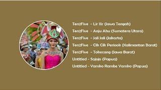 Gambar cover Lagu Daerah Indonesia, Sumatera,  Jawa, Kalimantan, Sulawesi, Papua.