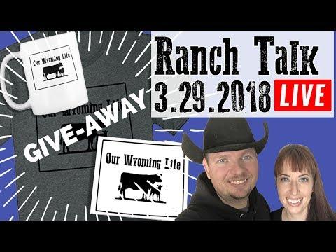 Ranch Talk 3-29-2018   Trivia Time!!