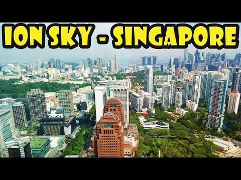 ION Sky - Best View in Singapore