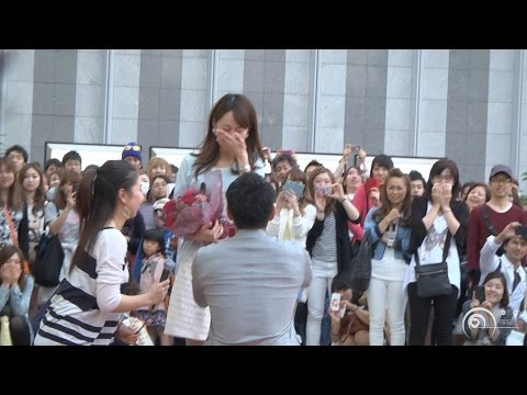 Flashmob Surprise Proposal Charice Louder JR '