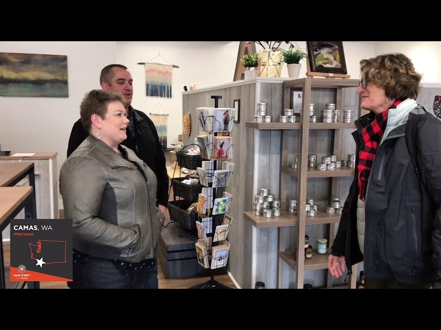 #MyCamas Series: Small Business Revolution Meets The Artful Attic; Hosts Ribbon Cutting