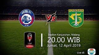 Jadwal Final Piala Presiden, Arema FC Vs Persebaya, Jumat (12/4) Pukul 20.00 WIB