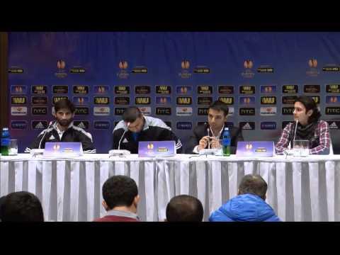 Предматчевая пресс-конференция Гурбана Гурбанова (Днепр-Карабах)