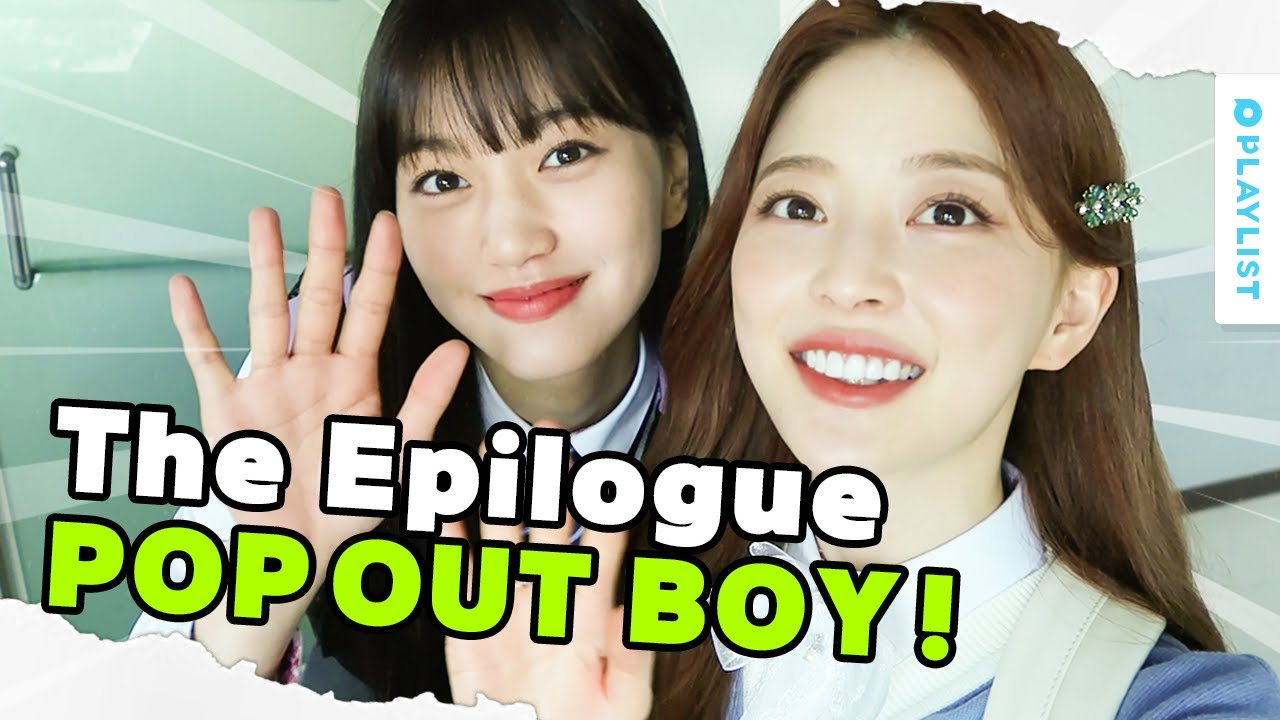 Behind-the-Scenes! They're Even More Fun Than The Epilogue! | POP OUT BOY! | (Click ENG CC)