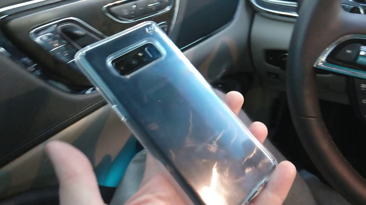 check out d1f9d 2b96e Speck Presido Clear Case Galaxy Note 8